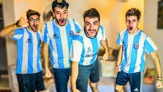 Reacciones de Amigos | Argentina vs Qatar | Copa America 2019