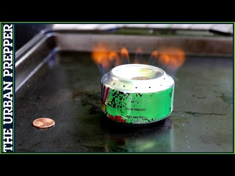 How to Make a Penny Can Stove #Shorts