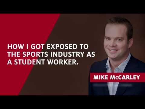 Getting exposure to the sports broadcasting industry as a UA student worker - Mike McCarley