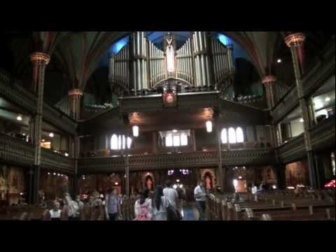 Day 5 in Montreal - Visiting Notre Dame Basilica