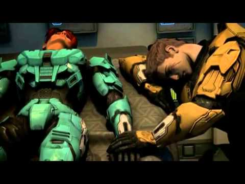 Red vs Blue- Bleeding out