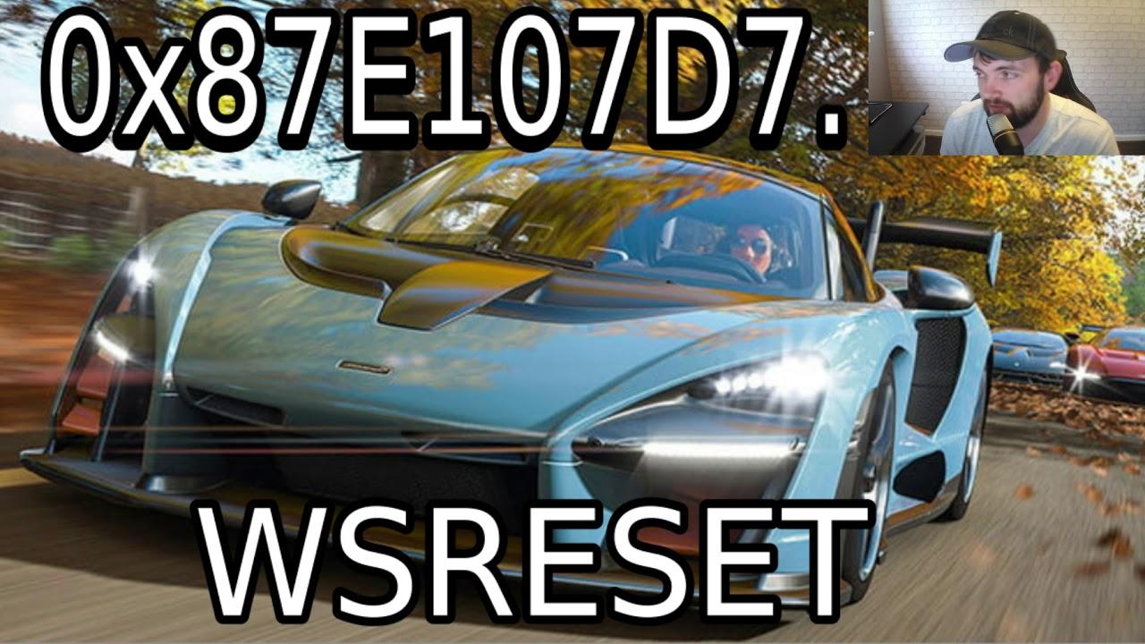 Forza Horizon 4 For Pc Error 0x87E107d7 - Forza 4 Not Installing