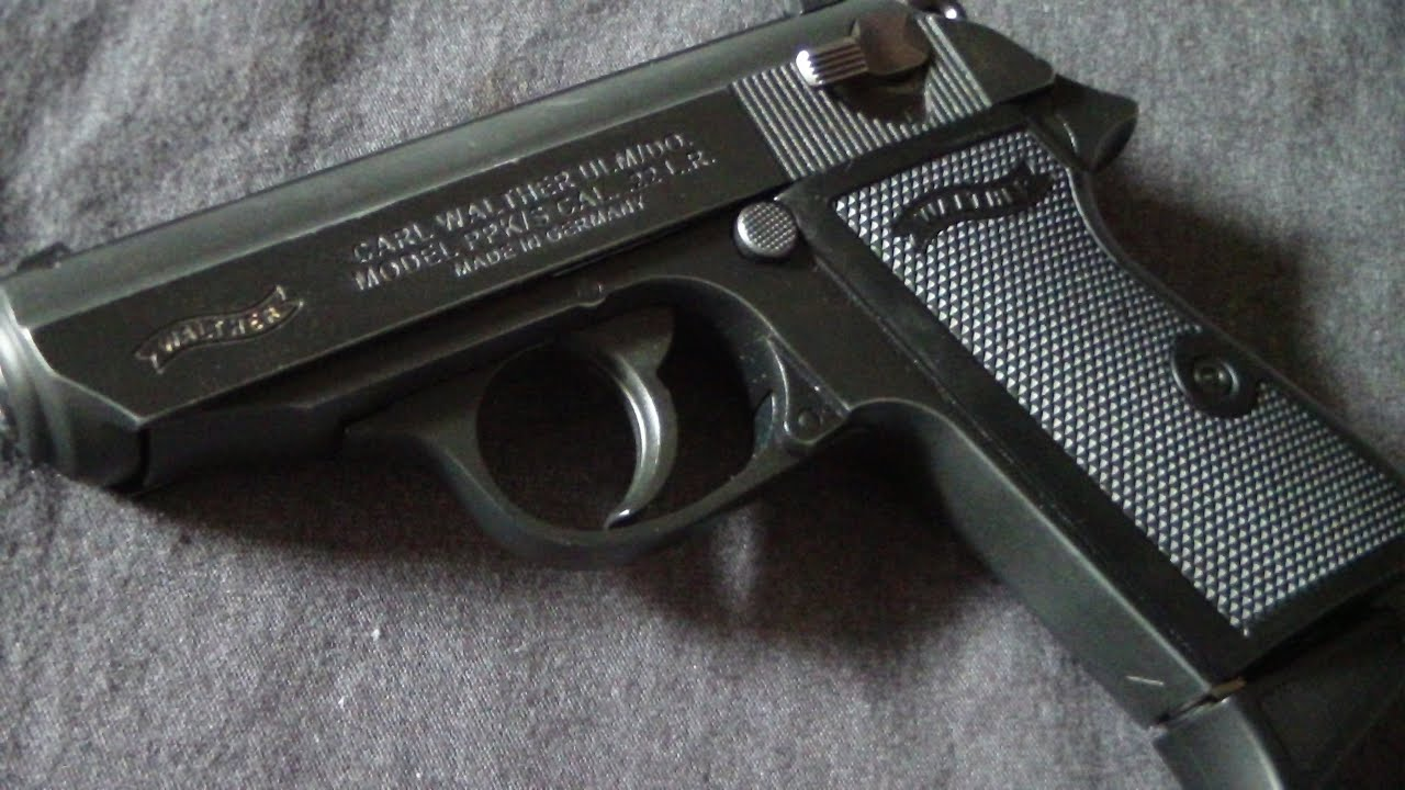 Walther Ppk >> Walther PPK/s in 22 long rifle (review) BATJAC J.W - YouTube