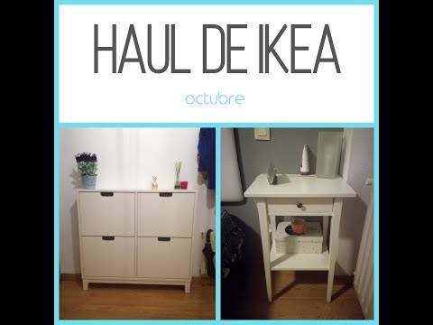 ¡HAUL IKEA OCTOBER! nuevos muebles, decoración y más!! // SariisTV