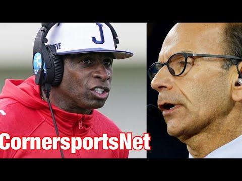 Jackson State football's Deion Sanders assesses Shedeur Sanders ...