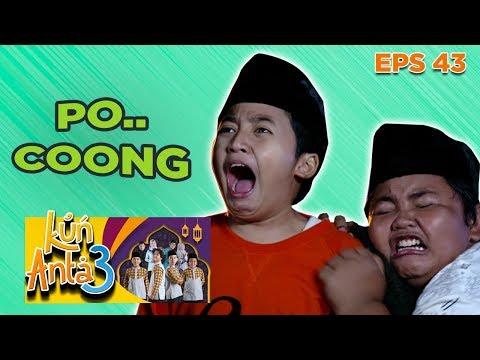 pooocoong!-ekspresi-ismail-dan-dodit-ketakutan-liat-pocong---kun-anta-3-eps-43-part-2