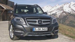 Mercedes-Benz GLK 220 CDI And GLK 250 CDI 4MATIC BlueEFFICIENCY Videos