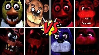 Five Unreal Nights at Freddy s ALL JUMPSCARES Legacy Edition