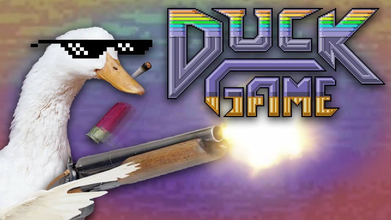 ABSOLUTE CHAOS!! | Duck Game w/ Friends #1