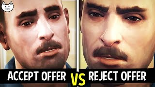 ACCEPT OFFER vs REJECT OFFER from David - Life Is Strange Before The Storm Episode 3 Gameplay Choice