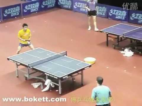 Chinese Table Tennis National Team Practice