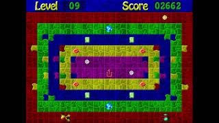 Jewel Chase - Music 1 - Microsoft Entertainment Pack: The Puzzle Collection (OPL3)