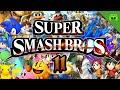 SUPER SMASH BROS # 11 - Brammen saugt uns weg «» Let's Play Super Smash Bros. | Full HD