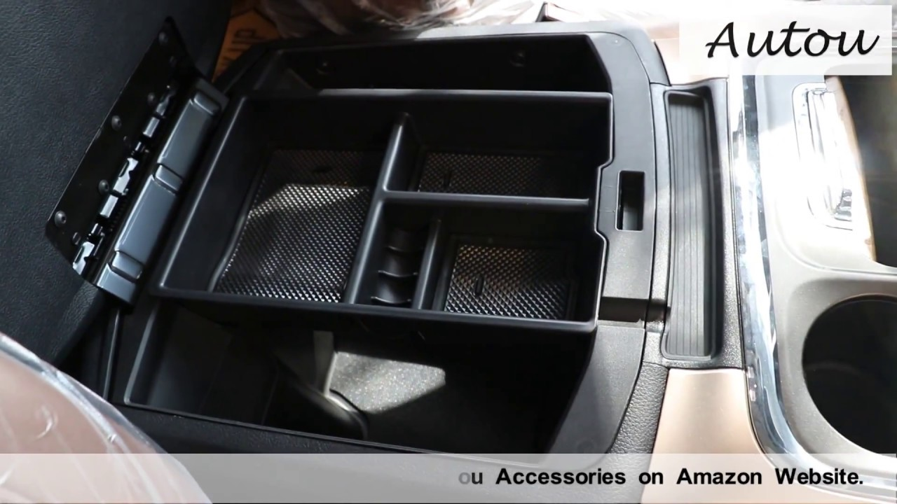 Dodge Ram 1500,2500,3500 (2009present)  Center Console Organizer Tray Installation by Autou
