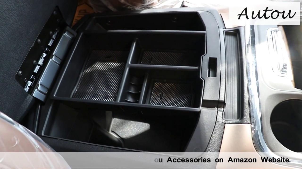 Dodge Ram 1500,2500,3500 (2009present)  Center Console Organizer Tray Installation by Autou