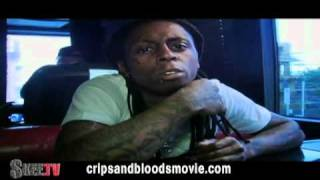 LIL WAYNE talks about Crips   Bloods, Gangs