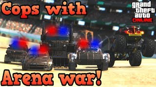 If cops used Arena war vehicles! - GTA Online