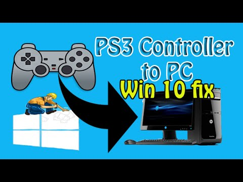 how to install ps3 controller on pc windows 10
