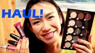 Beauty Haul! - MAC pro palette, MAC lipsticks, Christian Dior lip gloss, Urban Decay Thumbnail