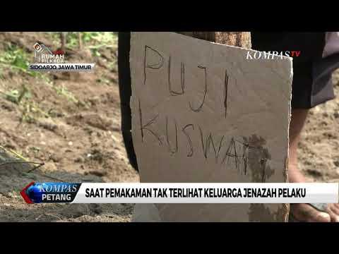 7 Jenazah Pelaku Peledakan Bom di Surabaya Dimakamkan