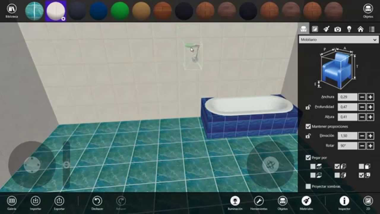 Live interior 3d pro dise o de interiores para windows 8 for Diseno interiores 3d