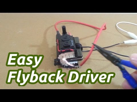 Easy Flyback Driver