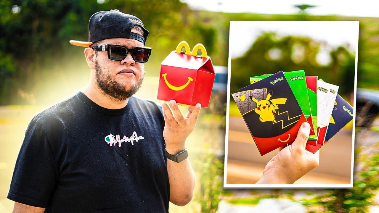 MC DONALD's fez parceria com Pokemon então comprei ‹ EduKof ›