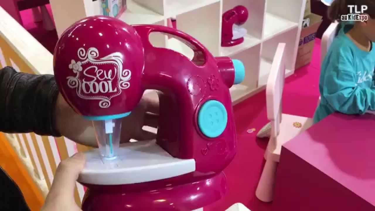 Sew cool la machine coudre pour enfant d mo fran ais for Machine a coudre king jouet