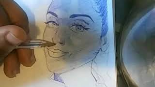 COMEDIAN: ROBIN THEDE😂!!! TIME LAPSE DRAWING!!!