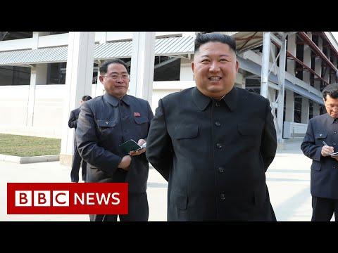 Kim Jong-un: North Korean leader appears in public, says state media - BBC News