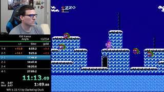 (25:37) Kid Icarus speedrun