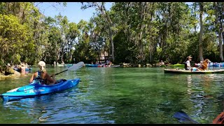Three Sisters Springs - Rock Crusher Canyon RV Park - Crystal River