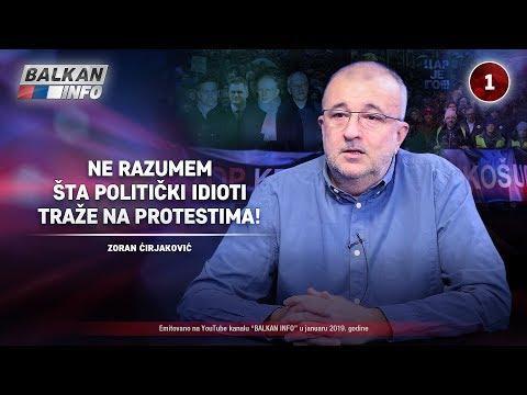INTERVJU: Zoran Ćirjaković - Ne razumem šta politički idioti traže na protestima! (2.1.2019)