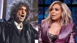 Howard Stern Blast Wendy Williams for saying he lost his edge.