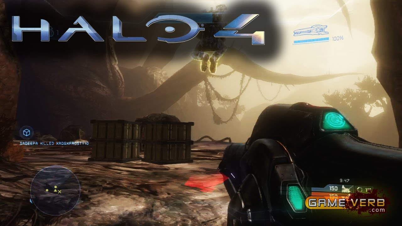 Halo 4 Epic Killstreaks Scattershot Amp Beam Rifle Team