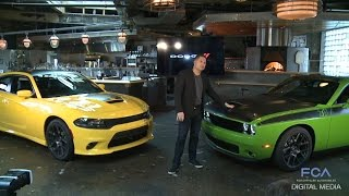 2017 Dodge Challenger T/A and Charger Daytona Reveal (Full)