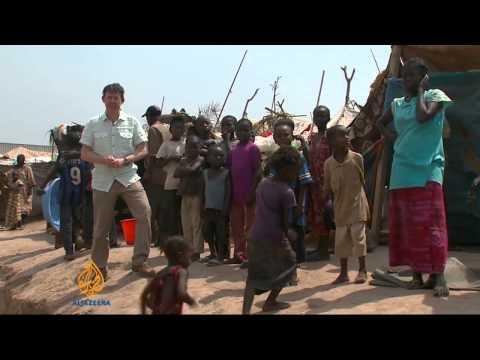 Measles outbreak sweeps through CAR camp