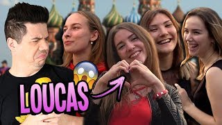 AS RUSSAS VIERAM PRA CIMA | Final da Copa na Rússia [1/2] HD