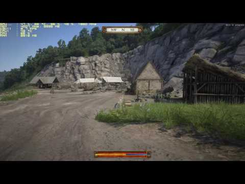 AMD FX8320 4.2GHZ + GTX 1070 VS Kingdom Come Deliverance (alpha Cry engine)