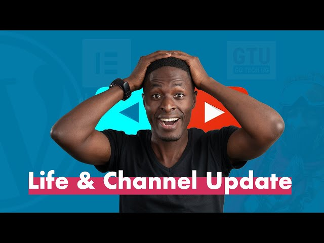 Channel Update (Life - Vacation - Coming up)