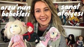 ESKİŞEHİR 3 - Arzu'nun Bebekleri Sanat Atölyesi I Doll Art I Bebek Yapımı