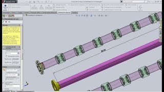 Insertar coples en sistema de tuberia routing Solidworks