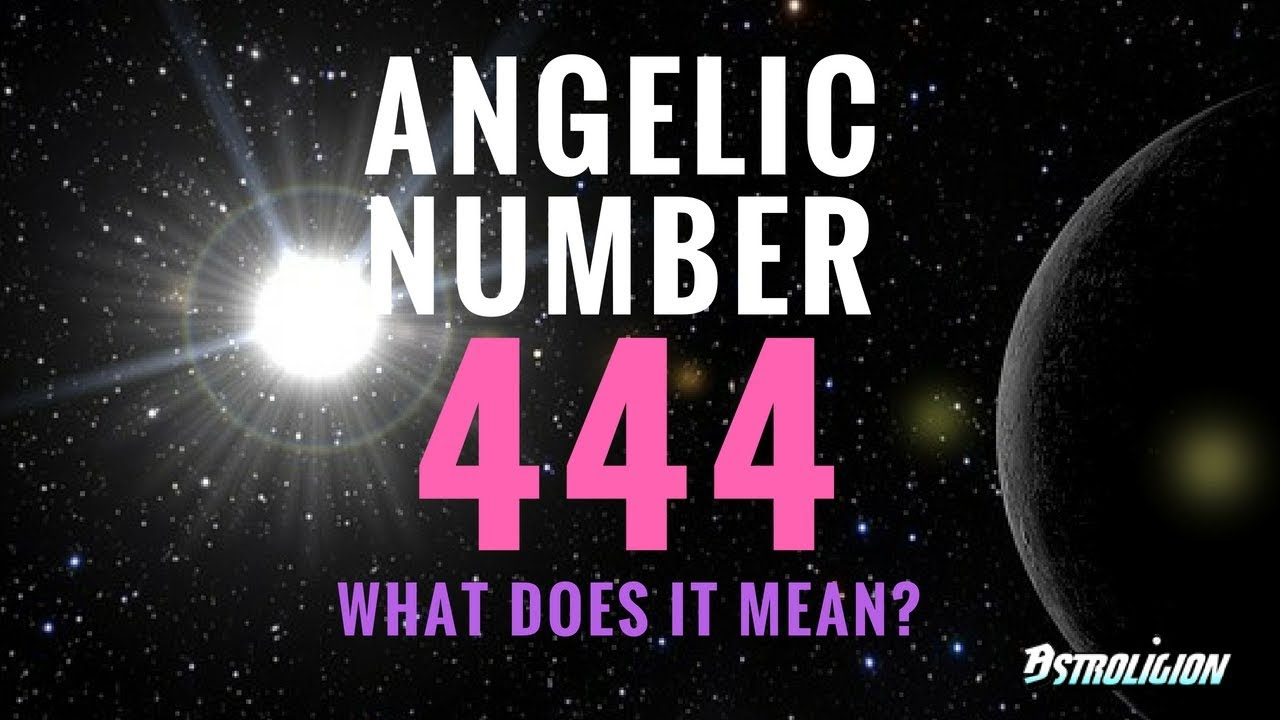 Angel Number 444: What Does It Mean? | astroligion com