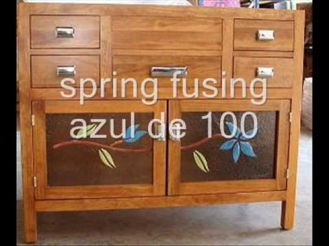 Muebles de ba o rusticos youtube for Muebles vanitorios rusticos