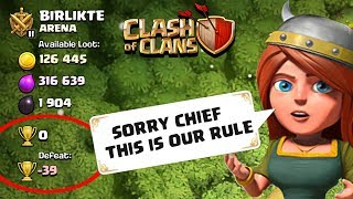 Supercell offered me 0 Trophies | Zero To Hero #1 Clash of Clans - COC
