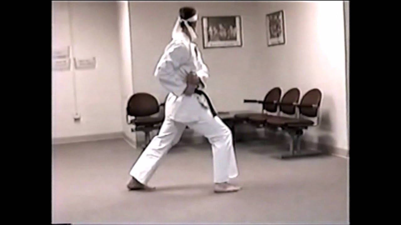 medium resolution of isshinryu karate seisan kata walkthrough