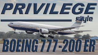 Privilege Style Boeing 777-200ER