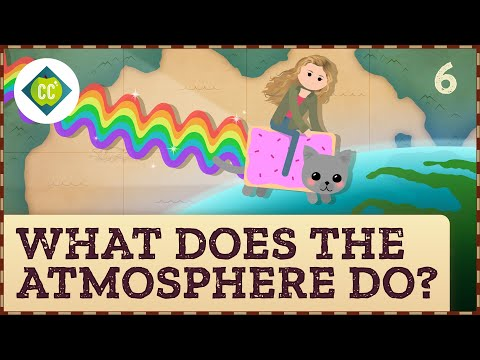 What Does the Atmosphere Do? Crash Course Geography #6