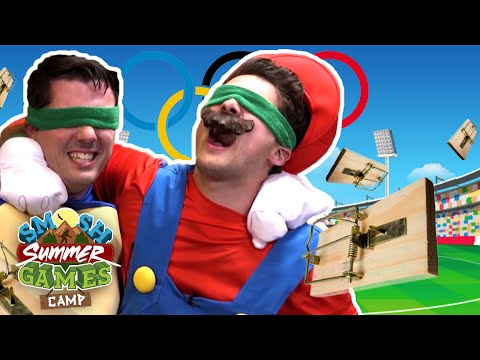 MARIO MOUSETRAP OLYMPICS (Smosh Summer Games)
