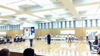 平成25年大阪府総体剣道競技の部 決勝戦 代表戦